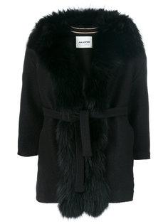 пальто с поясом  Ava Adore
