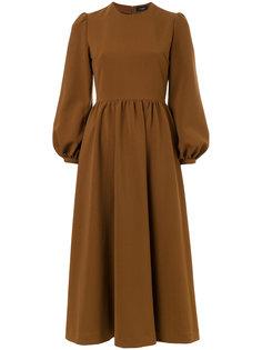 puffy sleeves flared dress G.V.G.V.