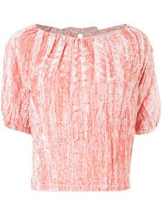 блузка с помятым эффектом Rejina Pyo