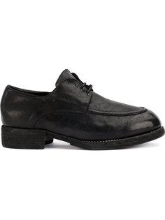 туфли Дерби на шнуровке Guidi