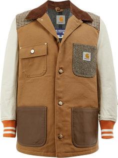 куртка в стилистике пэчворк Junya Watanabe Comme Des Garçons Man
