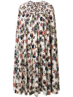платье шифт с принтом Popflower Valentino