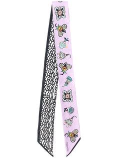 платок Valentino Garavani Bandeau  с цветочным принтом Valentino