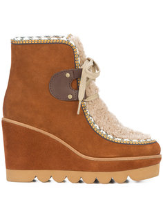 wedge ankle boots See By Chloé