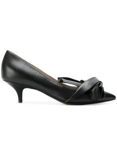 туфли-лодочки с декоративной завязкой Nº21