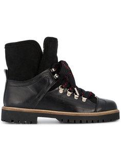 ботинки Edna с меховой подкладкой Ganni