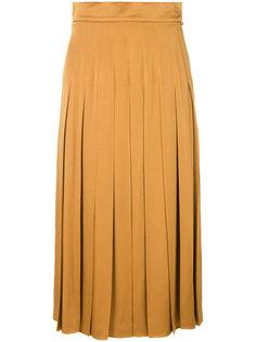 плиссированная юбка  Fendi