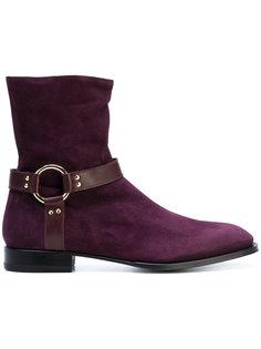 ботинки с пряжками Cesare Paciotti