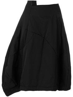 структурированная асимметричная юбка  Comme Des Garçons