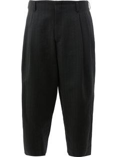широкие укороченные брюки Comme Des Garçons Homme Plus