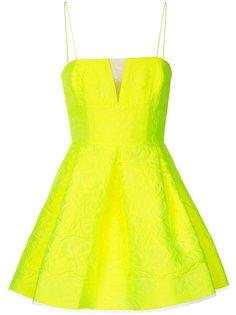 платье мини с цветочным узором Drake Alex Perry