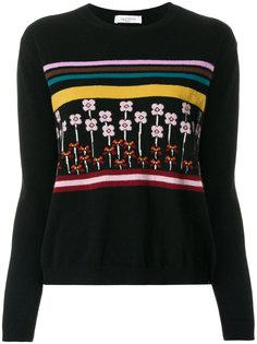 свитер с вышивкой Valentino