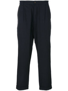 брюки со складками Universal Works