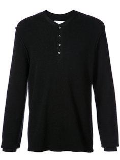 свитер вафельной вязки Ovadia & Sons
