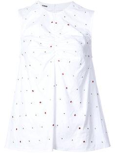 crystal embellished blouse Jourden