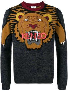 свитер с тигром Kenzo