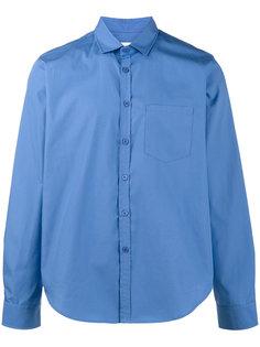 хлопковая рубашка с вышитой монограммой Martine Rose