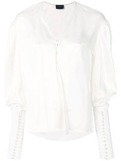 crossover v-neck blouse Magda Butrym