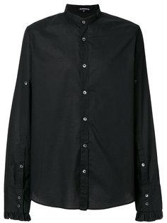 рубашка с оборками на манжетах Ann Demeulemeester