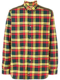 рубашка в клетку Junya Watanabe Comme Des Garçons Man