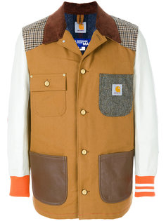 лоскутная куртка-бомбер Junya Watanabe Comme Des Garçons Man