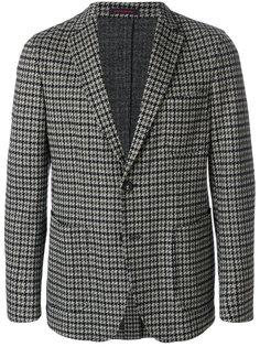 пиджак с узором в ломаную клетку The Gigi
