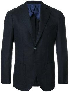 пиджак с застежкой на две пуговицы Barba