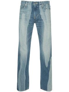 зауженные выбеленные джинсы Anrealage
