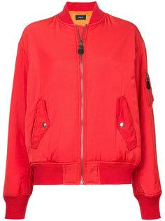 zipped bomber jacket  G.V.G.V.