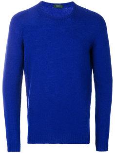 свитер тонкой вязки Zanone