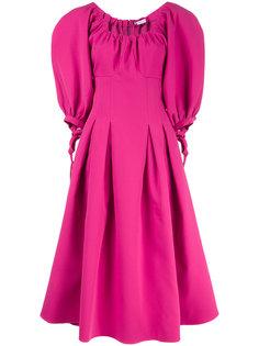 платье миди с объемными рукавами Rejina Pyo