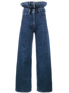 джинсы с двойным поясом Y / Project