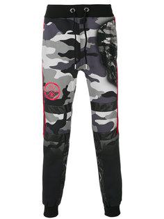 камуфляжные спортивные брюки Philipp Plein