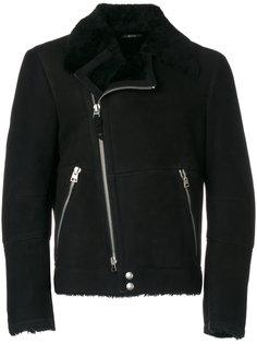 байкерская куртка из овчины Tom Ford