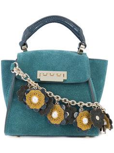 декорированная мини сумка-тоут Zac Zac Posen