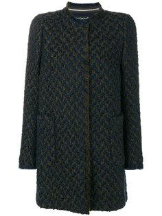 straight fitted coat  Luisa Cerano