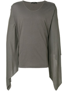 draped sleeves T-shirt Unconditional