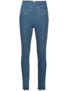 high-waisted skinny jeans En Route