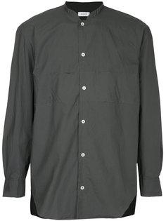 рубашка с воротником-мандарин En Route