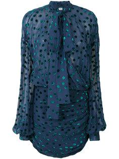 блузка в горошек  Magda Butrym