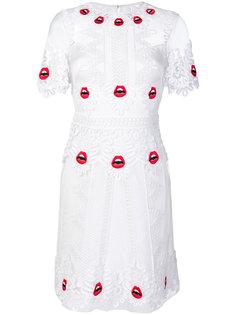 Leaf mini dress Temperley London