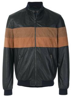 куртка бомбер с панельным дизайном Drome