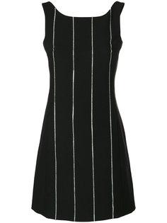 pinstripe mini dress Arthur Arbesser