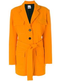 four pocket coat with belt Arthur Arbesser