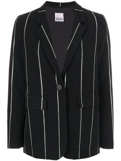 striped straight fit blazer Arthur Arbesser