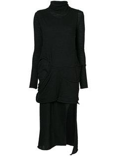 deconstructed stretch dress Barbara I Gongini