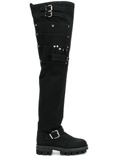сапоги выше колена с ремешками Alyx