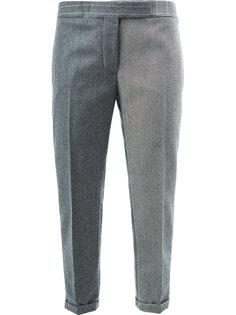 брюки в стилистике пэчворк Thom Browne