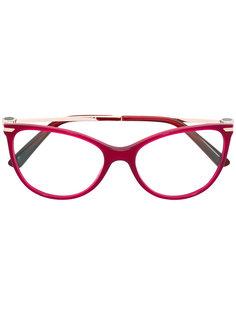 cat eye glasses Bulgari