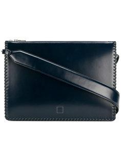 сумка для ноутбука с простроченной отделкой Wooyoungmi